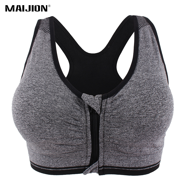 065406e3b8a3f Detail Feedback Questions about MAIJION 2PCS Women Push Up Fitness Yoga  Bras XXXL Size