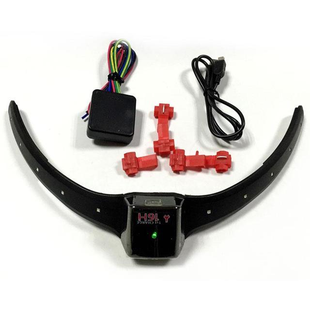 Wireless Motorcycle Motorbike Helmet LED Safety Turn Signal Light Indicator