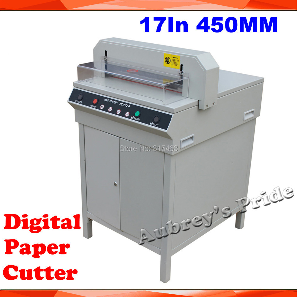 US $854 05 5% OFF|New Electric Digital Semi Auto Previous Stack Thick Paper  Cutter Cutting Machine-in Die-Cut Machines from Home & Garden on