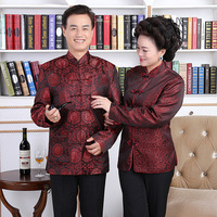 Wholesale couple got a life of middle aged and old outfit MJ0007 4 wedding costumes