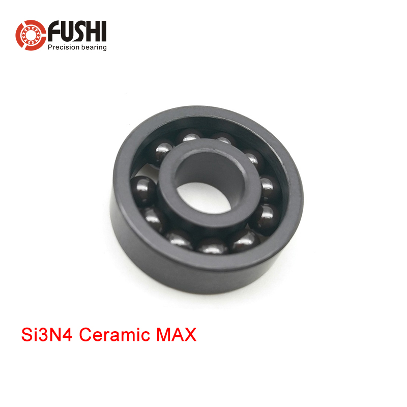 6802 MAX Full Ceramic Bearing Si3N4 1PC 15 24 5 mm Full Balls 6802 CE Ceramic