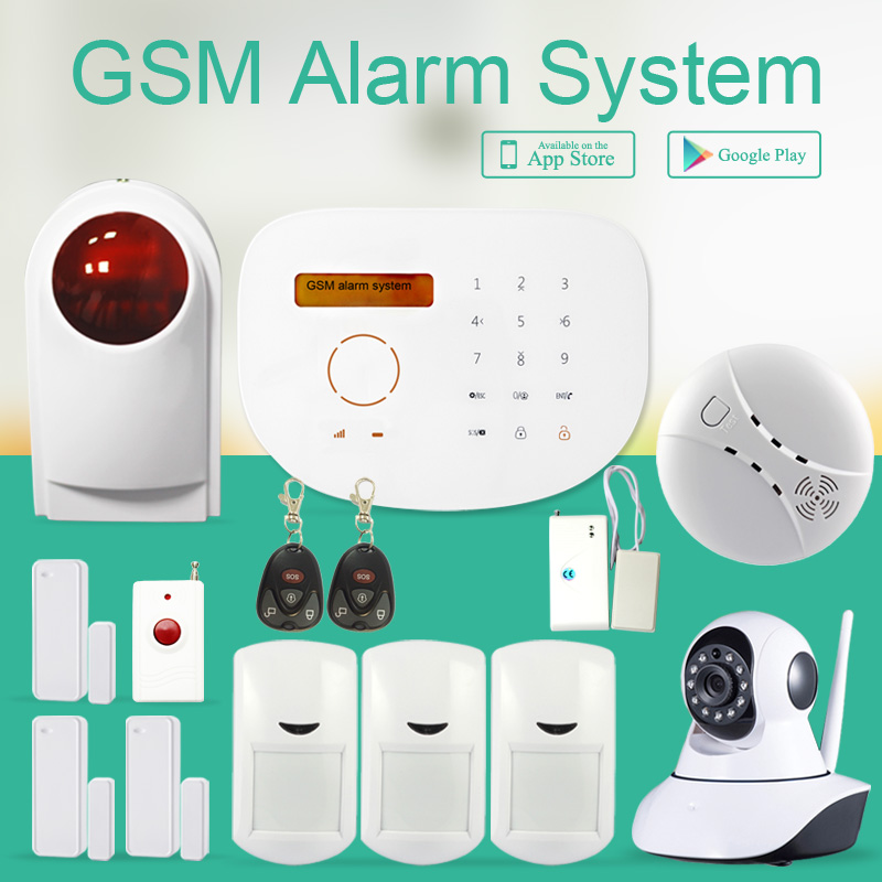 Wireless GSM Alarm Systems Security GS S2G Cheap Price Touch Panel Word  Display With IP Wifi Camera Home Security Alarm System On Aliexpress.com |  Alibaba ...