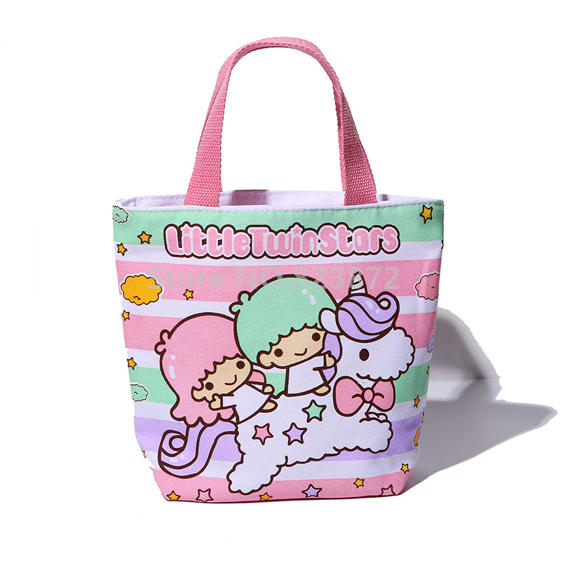 Aliexpress.com : Buy Cute Little Twin Stars Canvas Lunch Bag for ...