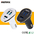 REMAX USB Inteligente Carregador de Carro Poder 6.3A Interruptor 3 Portas Super tomada de carregamento rápido para iphone 6 s tablet telefone inteligente mp3 MP4