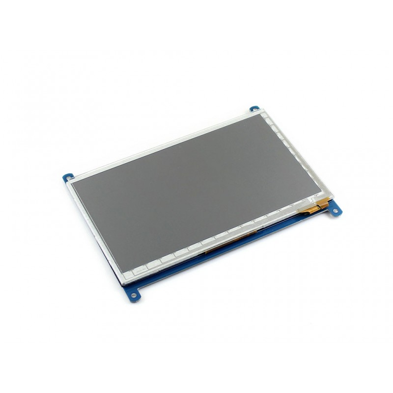 Waveshare 7inch 800*480 Capacitive Touch LCD Multicolor Graphic LCD with capacitive touch screen stand-alone touch controller modules 7inch resistive touch lcd display module 800 480 pixel multicolor screen ra8875 controller embedded 10kb character rom
