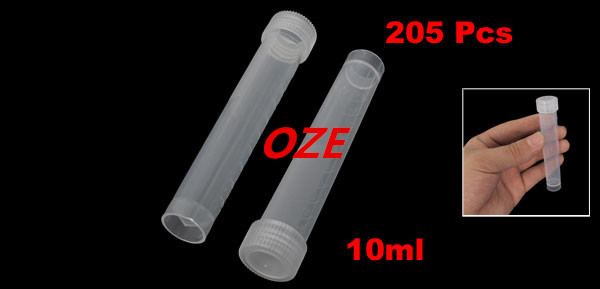 200 Pcs Disposable Graduated Skirted Centrifuge Tubes 10ml w Cap alobon 10ml 120