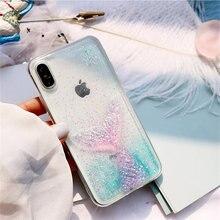 For xiaomi mi 8 lite mi A1 A2 lite case Cute 3D glitter Dreamy mermaid for redmi Note 5 Pro Transparent phone cover coque fundas