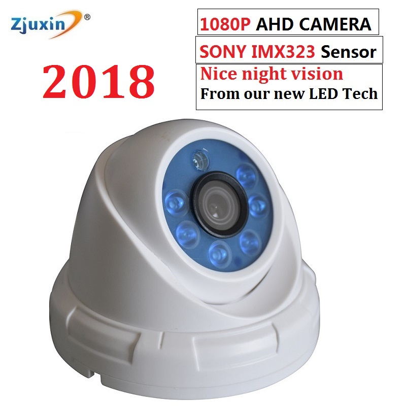 1080P SONY SENSOR AHD CAMERA 6PCS NEW TECH Array IR LED 2MP CCTV Camera Indoor 3.6mm Security camera lens for nice night vision new ahd sony sensor 1080p cat eye door