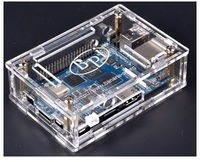 In stock Acrylic/Clear Case for Banana Pi M3 Board,only compatible with BP-M3 board