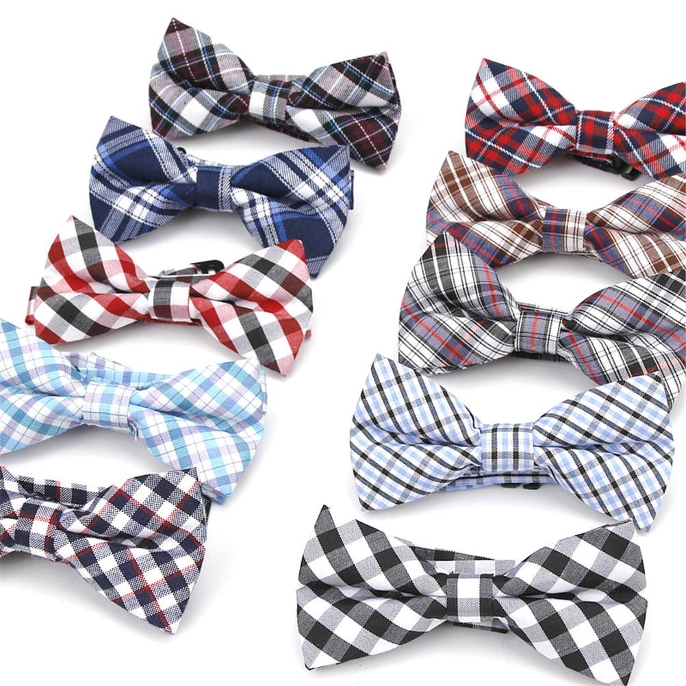 Necktie Children Kids Boys Toddler Solid Bowtie Pre-Tied Wedding Bow Tie Fashion