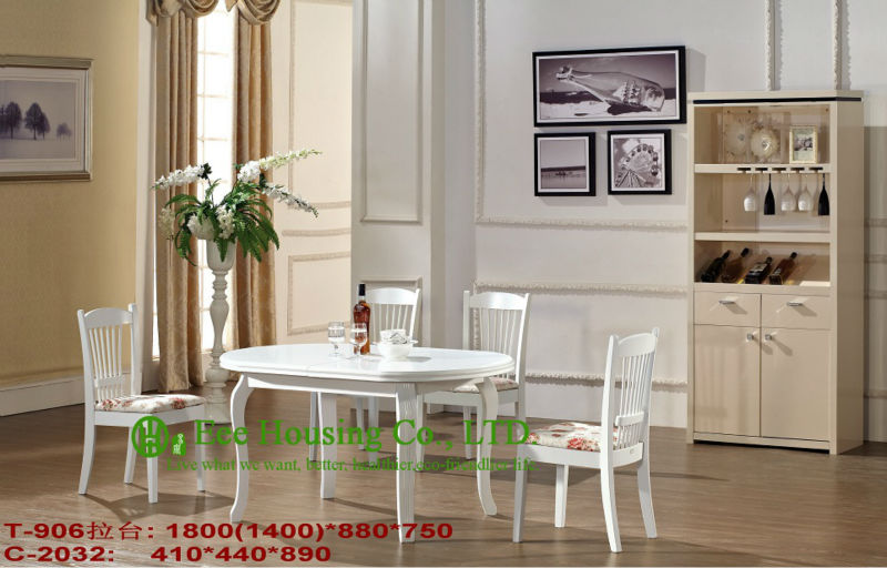 C-2032,T-906 Luxurious Solid Dining Chair,Solid Wood Dinning Table Furniture With Chairs/Home Furniture