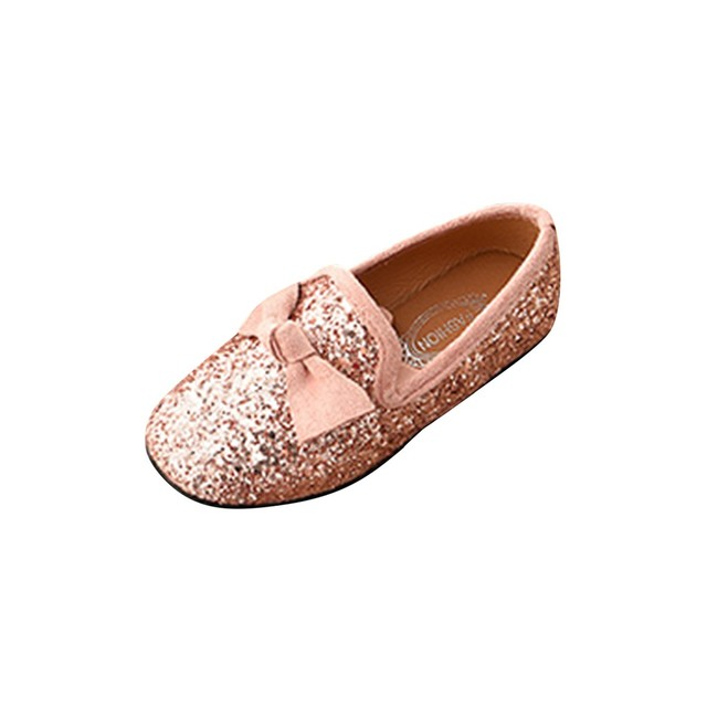 Kids Shoes Children Kid Baby Girls Bowknot Crystal Bling Single Princess Party Dance Shoes Baby Shoes Fashion zheng140 1