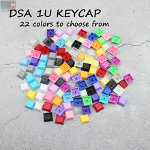 PBT Blank 1U Keys DSA Keycaps Mixded Color Cherry MX Custom Keycap Set For Gaming Tastatur Mechanical Keybord Mini Kit Gamer