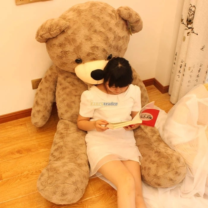 Fancytrader 67\'\' 170cm JUMBO Huge Giant Plush Stuffed Teddy Bear, 3 Colors Available, Free Shipping FT90345 (7)