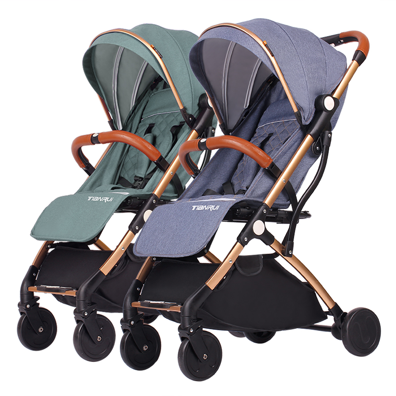 TIANRUI twins baby stroller trolley can sit down and split childrens portable folding two child twin car.TIANRUI twins baby stroller trolley can sit down and split childrens portable folding two child twin car.
