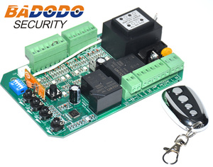 Image 2 - Sliding gate opener AC motor control unit PCB controller circuit board electronic card with pedestrian mode soft start