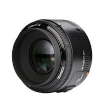 In Stock!YONGNUO YN50mm f1.8 YN EF 50mm f/1.8 AF Lens YN50 Aperture Auto Focus for Canon EOS DSLR Cameras цена 2017