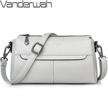 5b007d848c24 2019 белая женская кожаная сумка Роскошные сумки женские сумки Дизайнерские  летние стильные женские сумки через плечо для женщин Sac