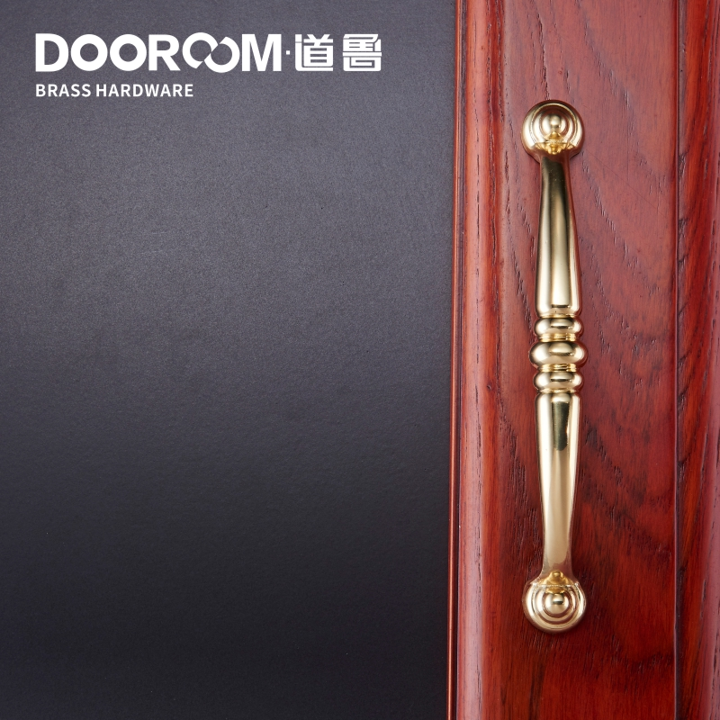 What Makes American Door Handle Solid Copper Wardrobe Door Drawer Copper  Handle Double Mediterranean Style Solid Wood Furniture In Tool Parts From  Tools On ...