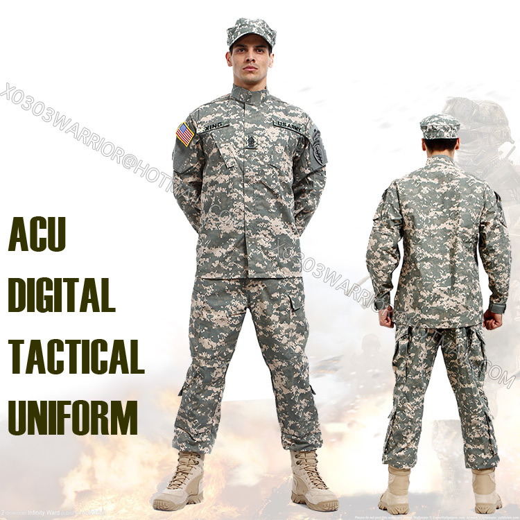 us acu digital military uniform paintball suit set bdu hunting combat camouflage uniform. Black Bedroom Furniture Sets. Home Design Ideas