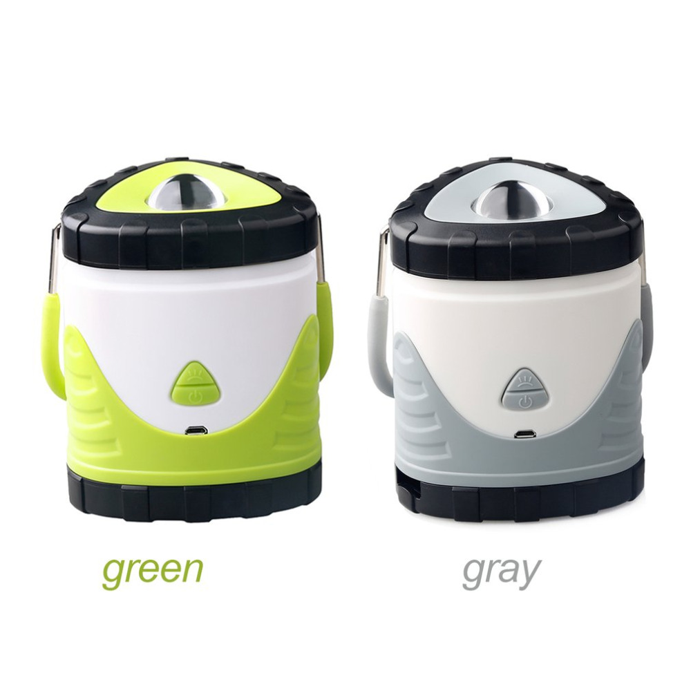 Skywolfeye Portable LED Ultra Bright Lighting Flashlight Camping Hiking Lantern Waterproof Outdoor Rechargeable Lamp Gift