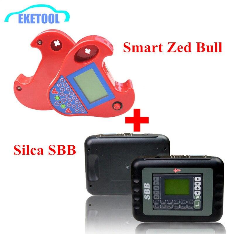 Цена за 2017 Лидер продаж Новые SBB V33.02 Silca SBB V33 Ключ чайник + мини Смарт Zed Bull Zed-BULL Zedbull профессиональный ключ программирования