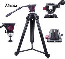 MTX718 Professionelle Stativ kamerastativ Video Stativ Dslr VIDEO Stativ Flüssigkeit Kopf Dämpfung für video digital SLR DSLR kamera