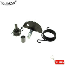 Xlsion Aftermarket Kick Starter Gear Assembly Cocok 49cc 50cc 60cc 80cc 100cc GY6 139QMB P139QMB Skuter Moped(China)