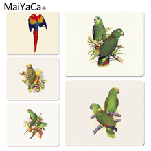 MaiYaCa  Parrot Photo Beautiful Anime Mouse Mat Size for 18x22x0.2cm Gaming Mousepads