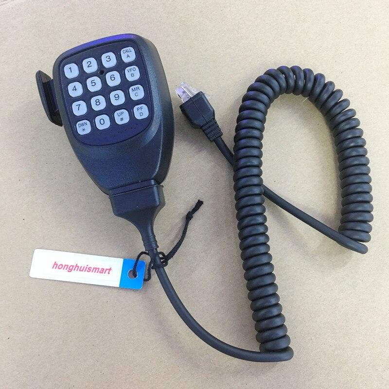 Honghuismart Microphone Speaker 8 Pins For Kenwood TM481,TM281,TM471,TM271,TK868G,TK8108 Etc Car Vehicle Basic Radios
