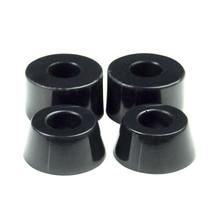 4pcs Skateboard Bushings Props feed tube 90A, Black