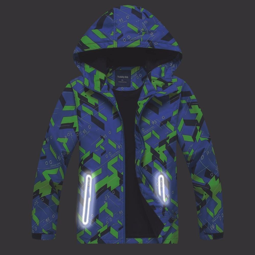 Водонепроницаемый индекс 5000 мм Брендовая верхняя детская одежда теплая детская куртка детская одежда ветрозащитные Обувь для мальчиков Ку...
