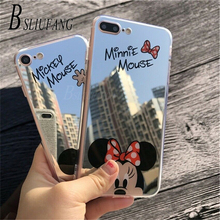 BSLIUFANG Popular Cartoon Silicone Soft Case For iPhone X XS