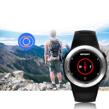 Multi function Smartwatch Men GUANQIN Swimming Sport Watch Heart Rate Monitor Call reminder Smart watch for ios android Systems