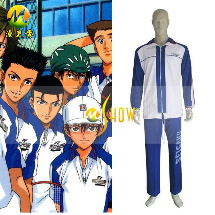 Japanese Anime Cosplay The Prince Of Tennis Seigaku Adult