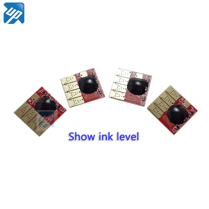 UP 10sets permanent chip compatible for hp 950 951 CISS cartridge For HP Pro 8100 8600