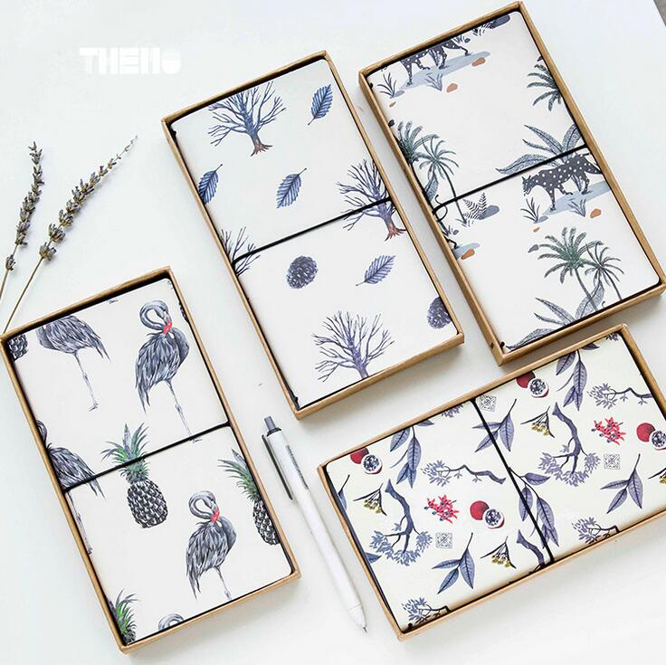 Flamingo Fruit And Plant PU Leather Cover Planner Notebook Diary Book Exercise Composition Binding Note Notepad Gift Stationery flamingo flamingo босоножки розовые
