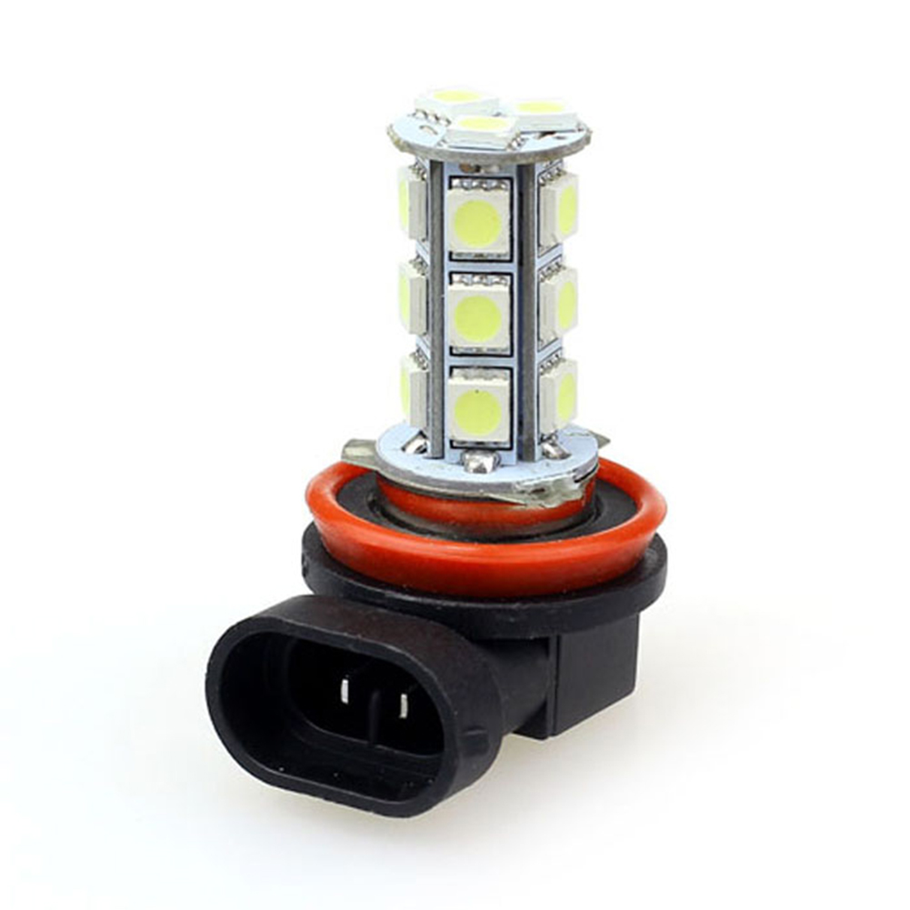 Super White And Bright DC 12V LED Car Driving Fog Headlight 5050 SMD Auto Fog Lamp For Fog Weather Driving  H8/ H11