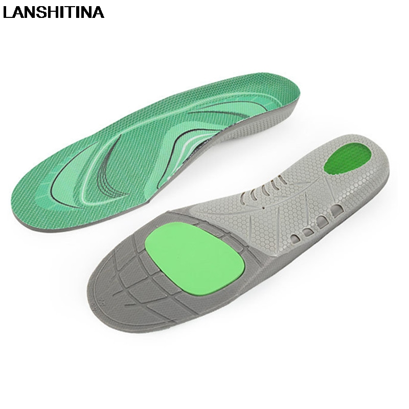Running Sports Insoles Arch Support Orthopedic Insoles Sweat Absorbent Breathable Shock Absorbing Insoles For Men Women Shoe Pad bamboo charcoal insoles health sweat absorbent breathable foot pad damping shoe insoles anti slip plantillas zapato accessories