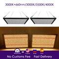 Светодиодный светильник для выращивания квантовой платы LM301B 288 шт. чип полный спектр 240 Вт samsung 3000 K, 660nm красный Veg/Bloom state Meanwell драйвер