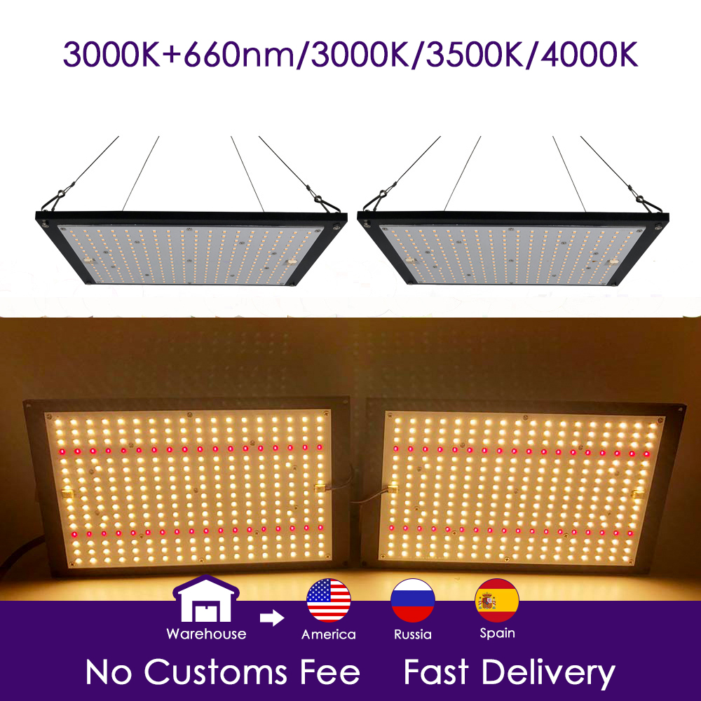 Led Grow Light Board Quantum Lm301b Lm301b Full Spectrum Qb288 240w Samsung 3000K 660nm Red Veg/Bloom Meanwell Driver