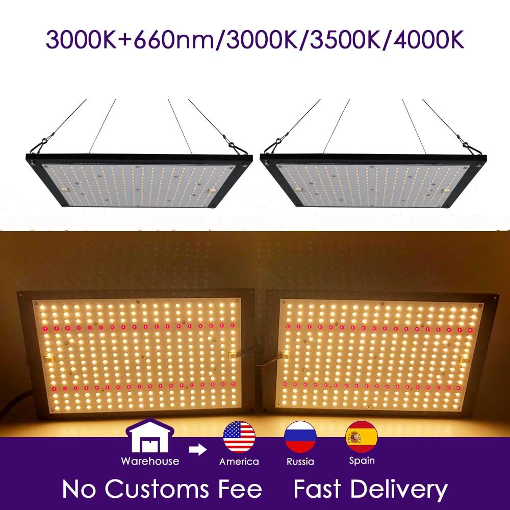 led grow light quantum board LM301B 288Pcs Chip Full spectrum 240w samsung 3000K, 660nm Red Veg/Bloom state Meanwell driver