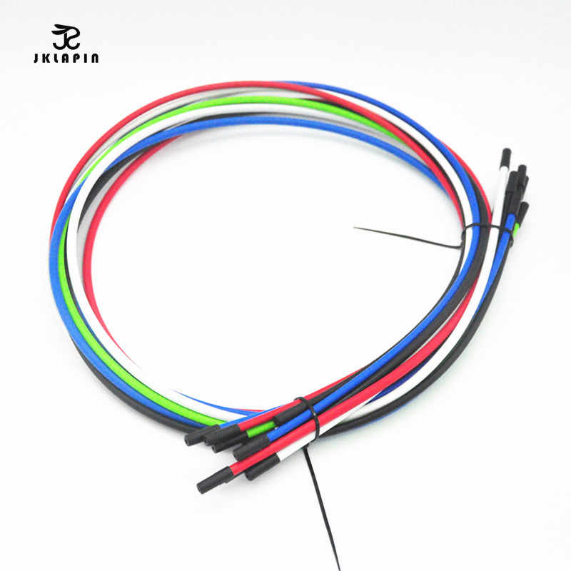 Bicycle Brake Line Tube Hose Transmission Shift Line Cable Wire Feeding Tube 1 Meters  With 2 Caps Free Shipping