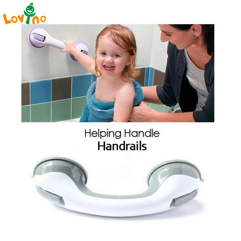 Safety Helping Handle Anti Slip Support Toilet bthroom safe Grab Bar Handle Vacuum Sucker Suction Cup clear white water resistance vacuum equipment suction cup sucker