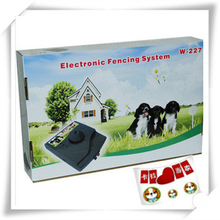 12pcs Waterproof Smart Pet dog in-ground Electronic Fence System W-227 110V and 220V universal