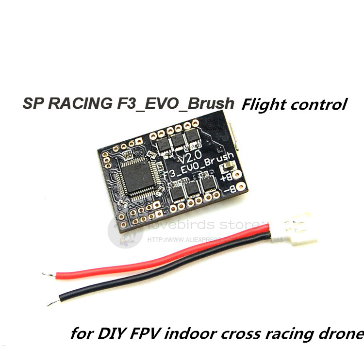 SP RACING F3_EVO_Brush brush flight control for DIY FPV micro indoor quadcopter mini drone obsessive alabastra белый ажурные трусики стринги