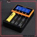 Original smok carregador inteligente portátil smart 18650 carregador de bateria li-ion/li-fepo4/ni-mh/ni-cd carregador de cigarro eletrônico