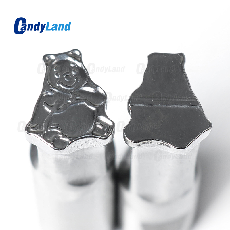 CandyLand Winnie Milk Tablet Die 3D Pill Press Mold Candy Punching Die Custom Logo Calcium Tablet