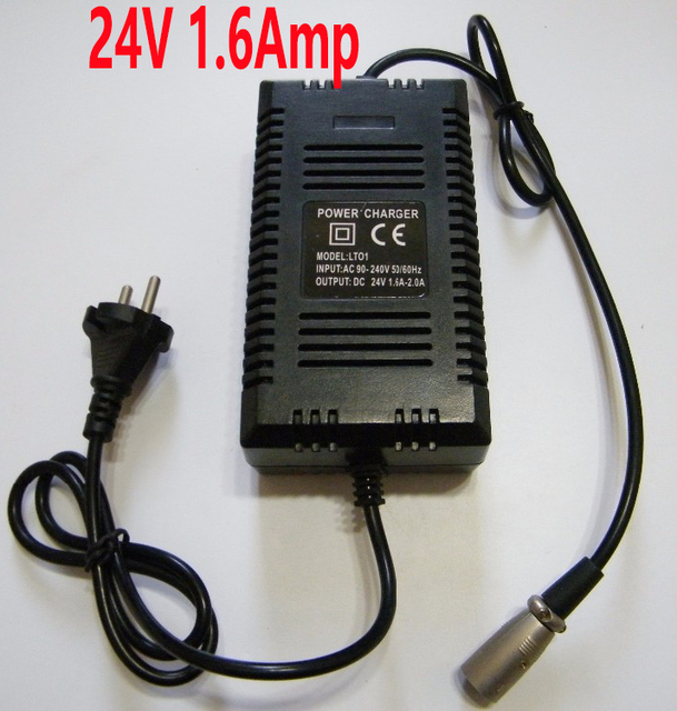 24 volt 1 6 amp battery charger razor electric scooters electric rh aliexpress com
