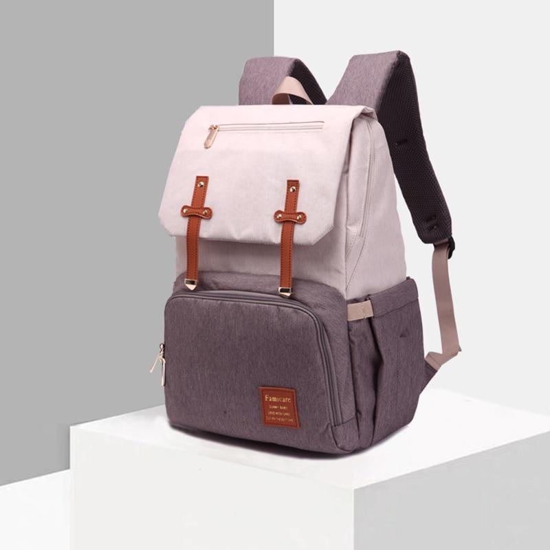 HTB1tHzaX79E3KVjSZFGq6A19XXah 2019 Diaper Bag Mummy Daddy Backpack Baby Stroller Bag Waterproof Oxford Handbag Nursing Nappy Bag Kits USB Rechargeable Holder